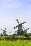 Wind mills in Holland Stock Image