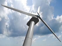 Wind mills, renewable energy. Stock Photos