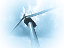 Wind mills, renewable energy. Stock Images