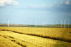 Wind mills Royalty Free Stock Photos