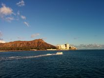 Wind in my Sails. Sailing around Diamond Head Stock Photography