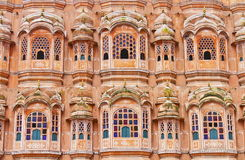 Wind Palace Of Jaipur. Closeup view of Wind Palace,Jaipur,Rajasthan. Magnificent fusion of Hindu Rajput architecture and Islamic Mughal architecture of famous stock photos