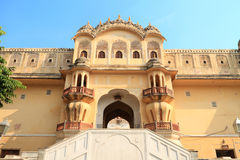 Wind Palace in Jaipur, Rajasthan, India Royalty Free Stock Photos