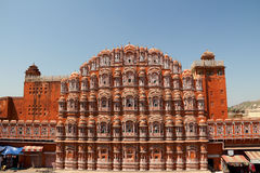 Wind Palace in Jaipur Stock Photos