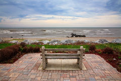 Wind Point Bench Royalty Free Stock Image