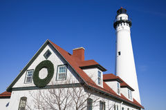 Wind Point Lighthouse Royalty Free Stock Photo