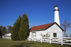 Wind Point Lighthouse Stock Images