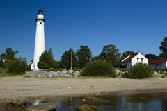 Wind Point Lighthouse Royalty Free Stock Images