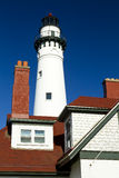 Wind Point Lighthouse stock image