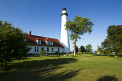 Wind Point Lighthouse royalty free stock image