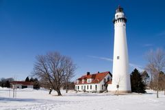 Free Wind Point Lighthouse Royalty Free Stock Photo - 7961745