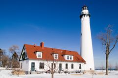 Free Wind Point Lighthouse Royalty Free Stock Images - 7996039