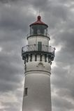Wind Point Lighthouse Royalty Free Stock Photos
