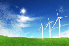 Wind power Stock Images