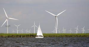 Wind power royalty free stock photos