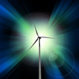 Wind Power Royalty Free Stock Photo