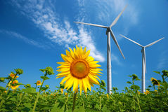 Wind power Stock Photography