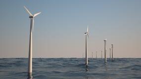 Wind power Royalty Free Stock Photo