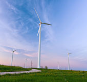 Wind power Royalty Free Stock Image