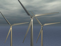 Wind power - 3D Stock Photos