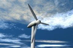 Wind Power stock illustration