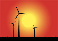 Free Wind Power Royalty Free Stock Photos - 9756988