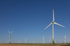 Wind power, alternative energy Stock Photography