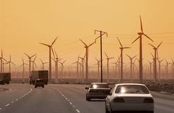 Wind Power - California - USA Stock Photo