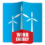 Wind power concept Stock Photos