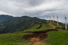 Wind power in Costa Rica Royalty Free Stock Photos