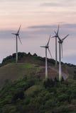 Wind power in Costa Rica Stock Image