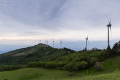 Wind power in Costa Rica Stock Images