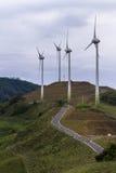 Wind power in Costa Rica Stock Photo