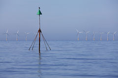 Wind power eco energy Stock Images