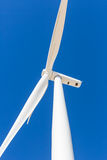 Wind Power. An electrical generator using wind to make power Stock Image