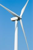 Wind power for electricity. Wind power, windmill for electricity stock photography