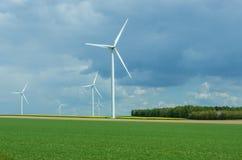 Wind power energy Royalty Free Stock Photos