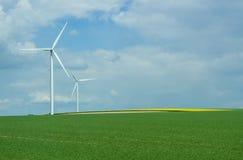 Wind power energy Stock Photo