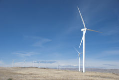 Wind power farm Stock Photography