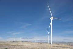 Wind power farm Stock Photography
