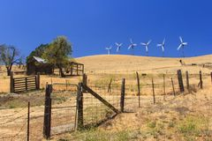 Wind Power Farm Royalty Free Stock Images