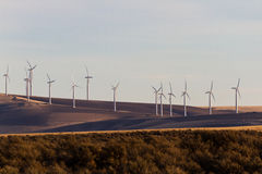 Wind Power. Power generating windmills in washington Stock Images