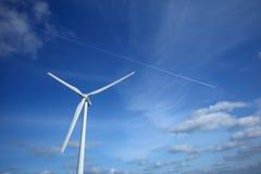 Wind power generation Stock Photos