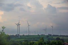 Wind power generation Stock Image