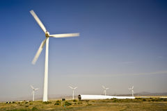 Wind power generation Royalty Free Stock Images