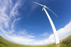 Wind power generation Stock Photo