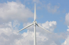 Wind Power Generator. One of the models of wind power generators widely used in Ontario, Canada Stock Photo