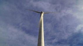 Wind power generator stock video footage