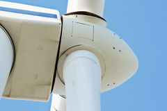 Wind power generator close up Stock Image