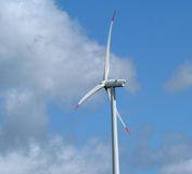 Wind power generator (detail) Royalty Free Stock Photography